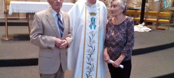 Frank & Dot Bonfiglio Celebrate 70th Wedding Anniversary ...