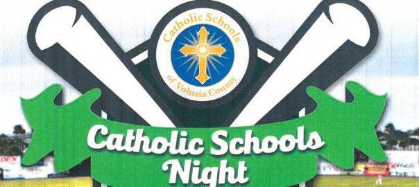 Image result for catholic schools night at jackie robinson stadium
